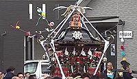 北金目神社 神奈川県平塚市北金目のキャプチャー