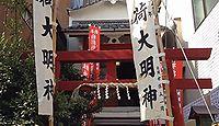 袖摺稲荷神社 東京都台東区浅草のキャプチャー