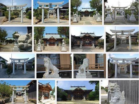 角島八幡宮(山口県下関市豊北町大字角島1314)