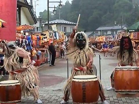 秋田県の重要無形民俗文化財