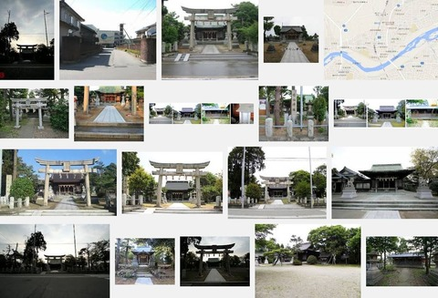 白山神社 福井県福井市八重巻中町のキャプチャー
