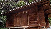 自玉手祭来酒解神社 - 天王山山頂付近に鎮座する、明治に復興した式内名神大社