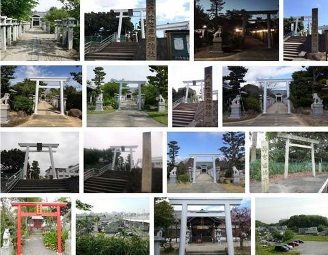 比佐豆知神社 三重県津市鳥居町のキャプチャー