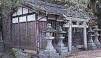 畝尾坐健土安神社 奈良県橿原市下八釣町