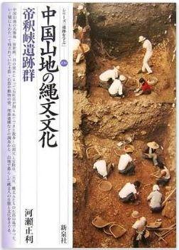 河瀬正利『中国山地の縄文文化―帝釈峡遺跡群 (シリーズ「遺跡を学ぶ」)』のキャプチャー