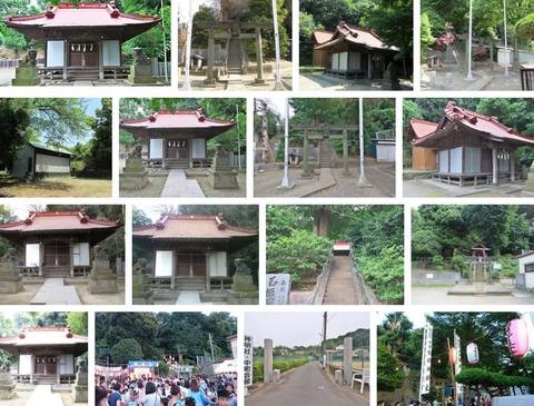 神明社 神奈川県横浜市鶴見区駒岡のキャプチャー
