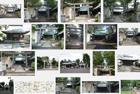 楊原神社(静岡県三島市北田町4-7)