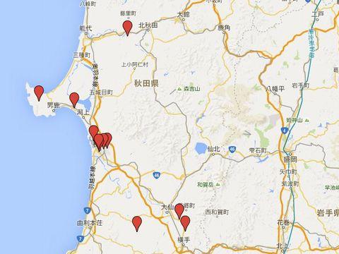 秋田県の旧県社のキャプチャー