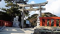 織幡神社 福岡県宗像市鐘崎岬のキャプチャー