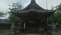 祝神社 長野県長野市松代町松代のキャプチャー