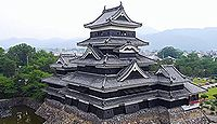 松本城 信濃国(長野県松本市)のキャプチャー