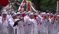 大縣神社 - 女陰をかたどった山車などが練り歩く「於祖々祭」で有名な、尾張国二宮