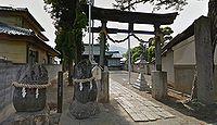 清水神社 長野県千曲市力石