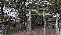 境内に秀吉ゆかりの女陰石 - 日吉神社(清須市)