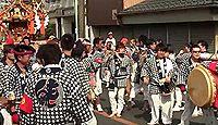 八日市場東照宮 - 行方不明の家康の愛鷹が舞い降りた「御鷹松」、5月例祭に大神輿の渡御