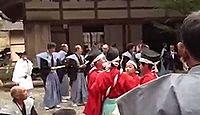 多治神社(日吉町) - 700年の伝統ある御田と、600年の「カッコスリ」を今に伝える古社