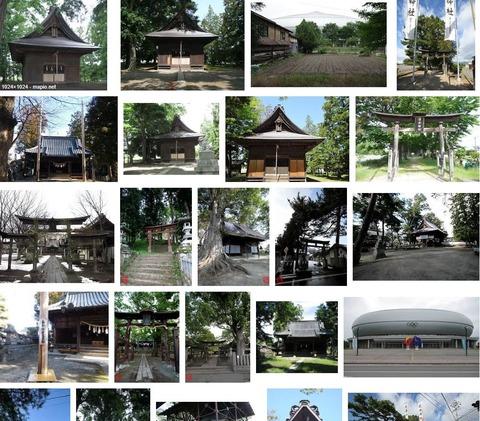 清水神社 長野県長野市真島町真島のキャプチャー