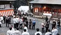 林田八幡神社 - 『風土記』の里、平安時代に八幡勧請、4月に中臣印達祭、2月に厄神祭