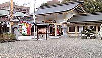 愛知縣護國神社 - 4月上旬には桜まつり「護國の森」、夜桜の照明を午後9時まで点灯