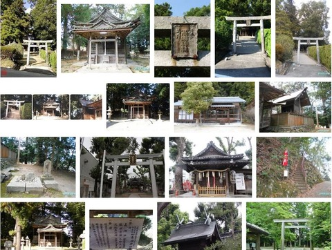 高瀬神社 三重県伊賀市比土のキャプチャー