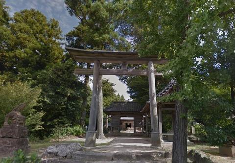 六所神社 島根県松江市大草町のキャプチャー