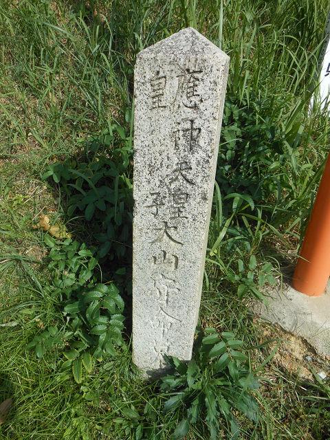 【古事記紀行2014】(10)反逆し水没し、遺骸引き揚げられて埋葬された大山守命の墓のキャプチャー