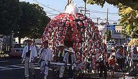 八幡鶴市神社 - 鶴女市太郎の人柱伝説と平安期から続く花傘鉾神事、現在は8月最終土日