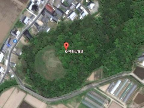 神明山古墳(京都府・京丹後市) - 日本海沿岸三大古墳の一つ、港との関係を示唆する古墳のキャプチャー