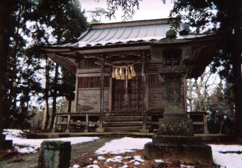 白山神社(宮城県栗原市金成小迫山神77)