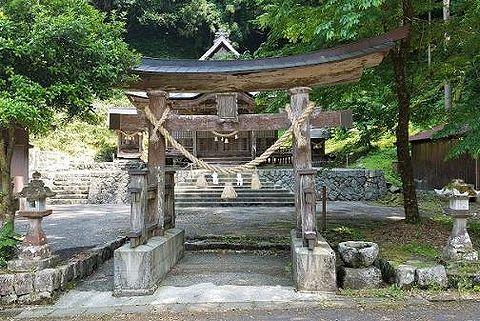 若宮神社 島根県益田市匹見町石谷のキャプチャー
