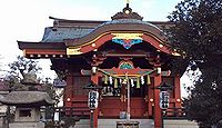 諏訪神社 東京都大田区多摩川のキャプチャー