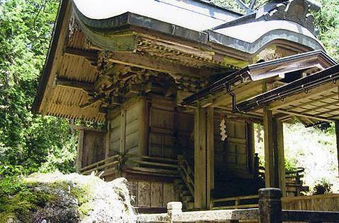楯縫神社 兵庫県養父市建屋のキャプチャー