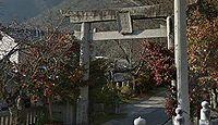 天戸八坂神社 徳島県三好郡東みよし町昼間