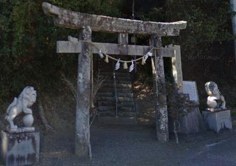 室津神社 高知県室戸市室津のキャプチャー