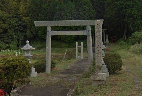 小山神社 三重県桑名市多度町小山のキャプチャー