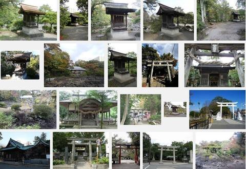 広瀬神社(静岡県三島市一番町19 楽寿園内)