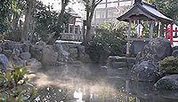 篠座神社 - 大己貴命が降臨した御霊泉の清水が有名、芭蕉も一句詠んだ景勝地の式内社