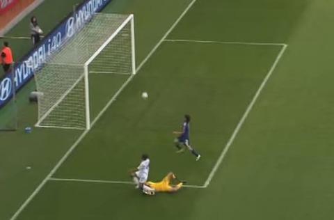 なでしこジャパン強豪イングランドに0-2完敗 - 女子W杯ドイツ大会2011年グループ三戦のキャプチャー