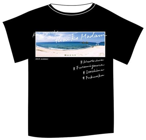 BUChy2019-7黒地Tシャツ2 のコピー