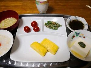 5月27日母のお昼ご飯