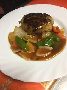 酢豚ハンバーグ