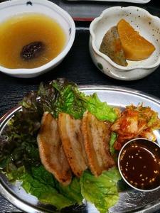 11月参鶏湯ランチ