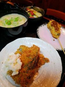 11月秋刀魚タルタル・コンニャクかつ・セロり赤コンニャクきんぴら