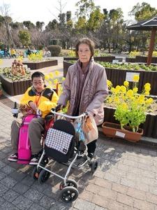 2月24日八戸ノ里公園−2