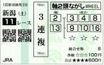 新潟大賞典_馬券2