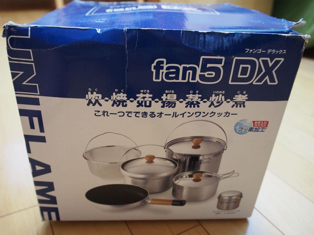 ユニフレーム fan5