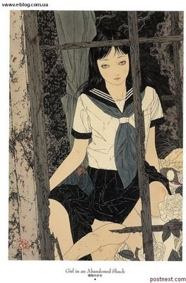 Asian japanese erotica art clip with sexy girls - 1 1