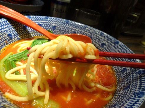 東京煮干屋本舗@中野-トマトらー麺