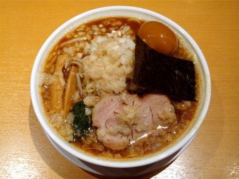 背脂煮干らぁ麺-どっかん@幡ヶ谷
