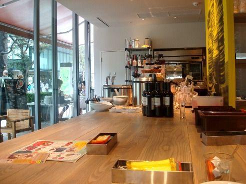 グッドモーニングカフェ@中野セントラルパーク-店内